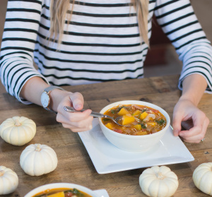 Bacon, Butternut, and Quinoa Soup - LifebyLee - Shipt